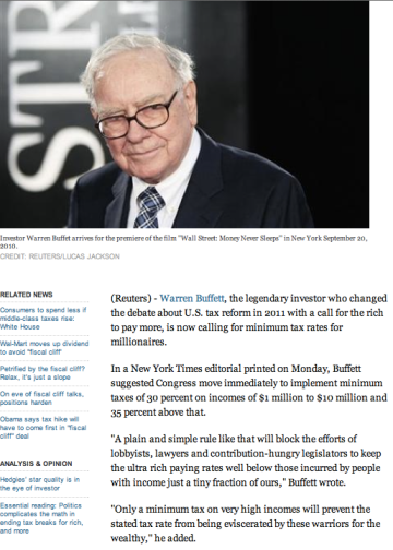 Buffett Reuters 2012
